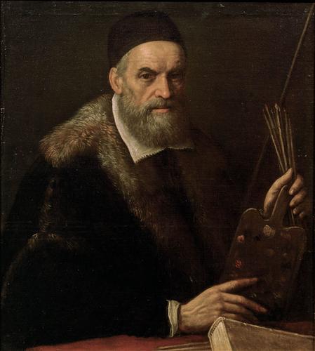 Autoritratto in tarda età di Jacopo da Ponte