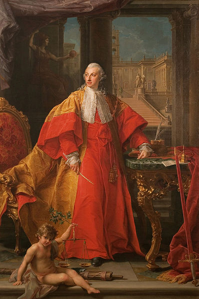 Batoni Girolamo Pompeo: Ritratto del principe Abbondio Rezzonico
