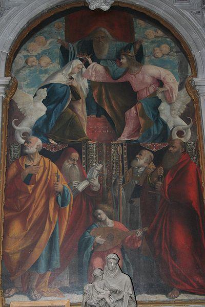 Vittore Belliniano: Incoronazione della Vergine