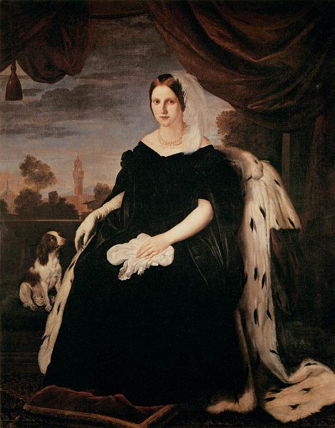 Giuseppe Bezzuoli: Marie Antonietta, arciduchessa di Toscana