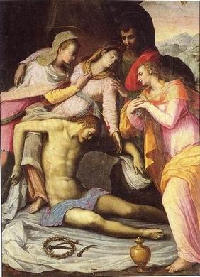 Giovanni Bizzelli: Cristo deposto