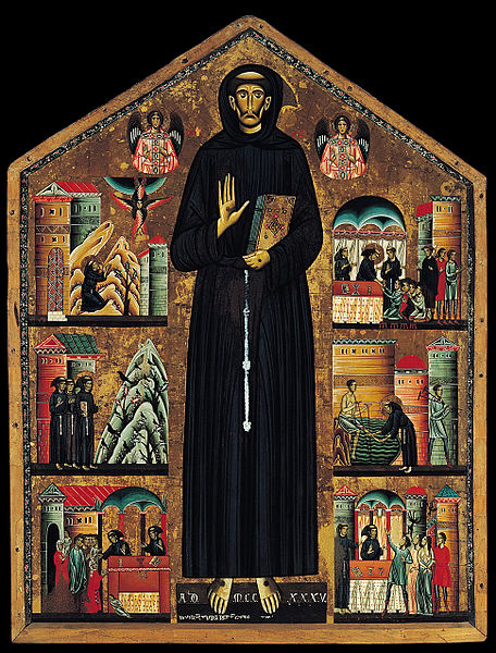 San Francesco e storie della sua vita