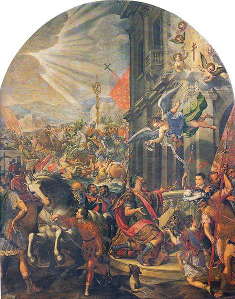 Apparizione della croce a Costantino
