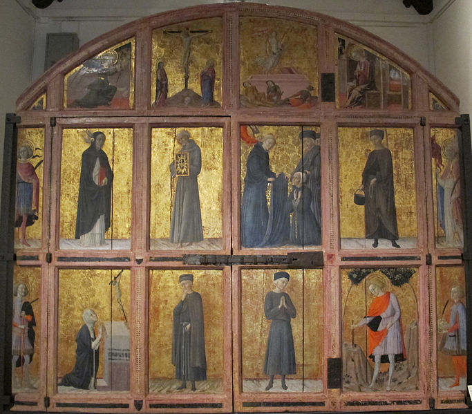 """L'""""Arliquiera"""" in Santa Maria della Scala"""