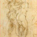 Michelangelo: Studio a matita, 17,9 x 23,9 cm., Bonnat di Bayonne
