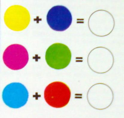 mescola dei colori