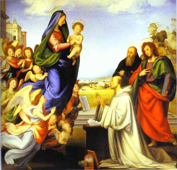 Fra Bartolomeo: La visione di san Bernardo