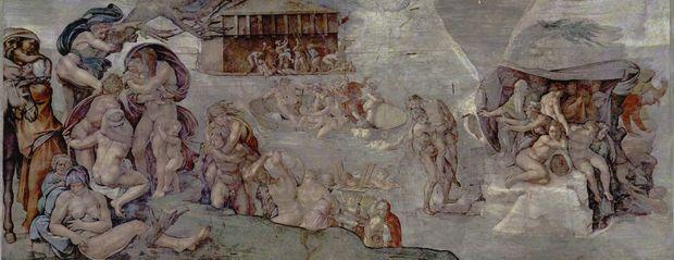 Michelangelo diluvio universale