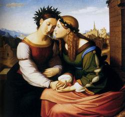 Friedrich Overbeck, Italia e Germania, anno1811, Monaco di Baviera, Neue Pinakothek