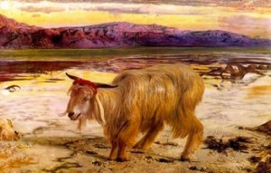 William Holman Hunt: Capro espiatorio.