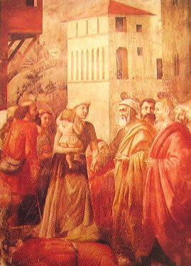 L'elemosina di S. Pietro: Masaccio