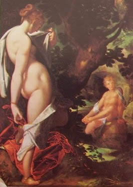 Salmaci ed Ermafrodito 1582: Bartholomeus Spranger