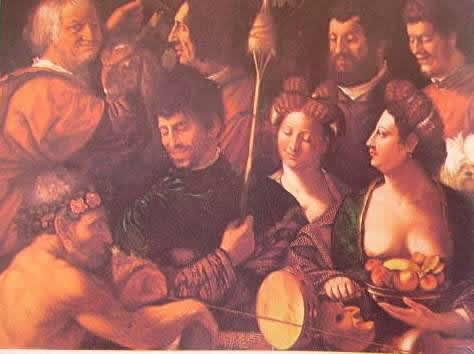 Bambocciata 1540 (particolare) Uffizi di Firenze