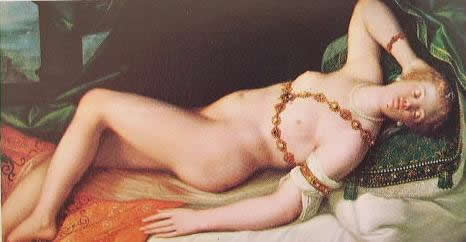 Venere addormentata: 1600: Joseph Heintz Vienna Kunsthistoriches Museum