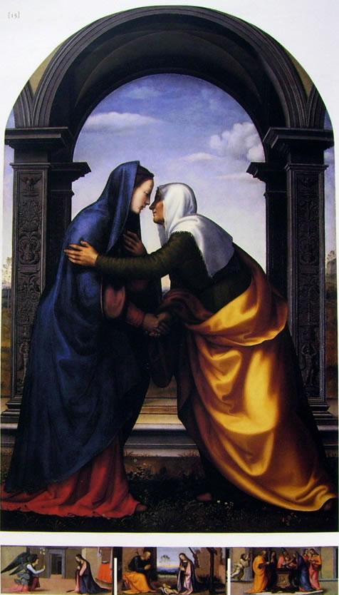 Mariotto Albertinelli: Visitazione (Uffizi)