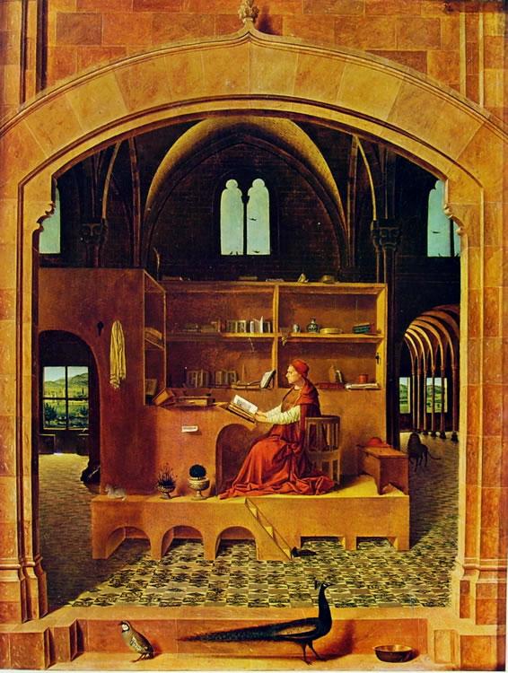 Antonello da Messina: San Gerolamo nello studio (Londra)