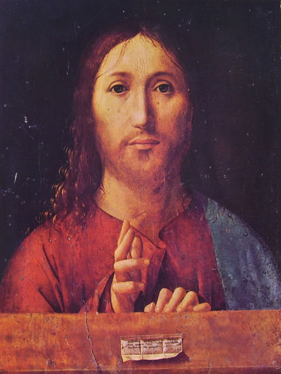 Antonello da Messina: Salvator mundi (Londra)