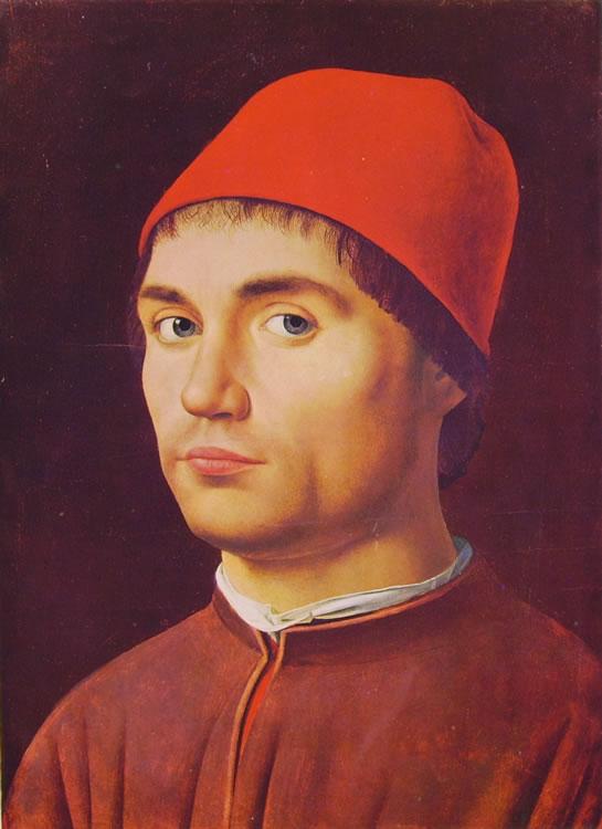 Antonello da Messina: Ritratto d'uomo (Londra).
