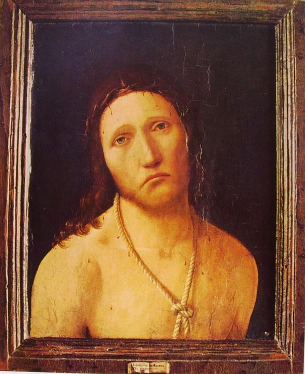 Antonello da Messina: Ecce homo (Genova).