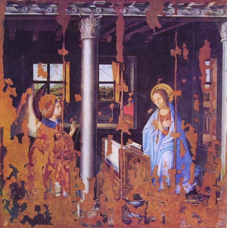 Antonello da Messina: L'Annunciazione (Siracusa)