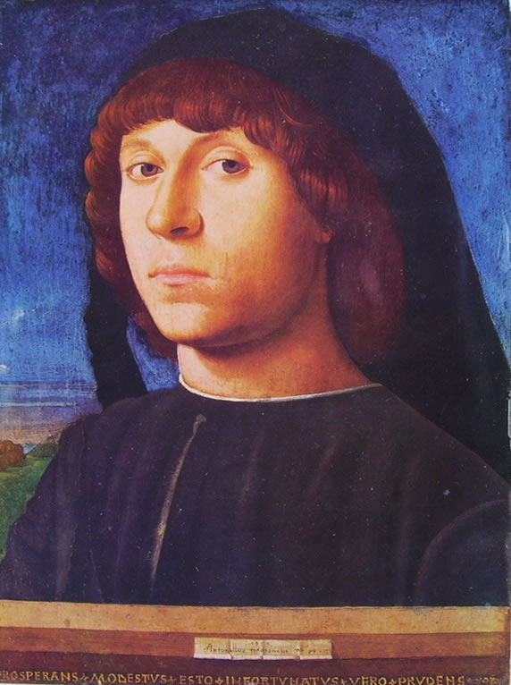 Antonello da Messina: Ritratto d'uomo (di Berlino).