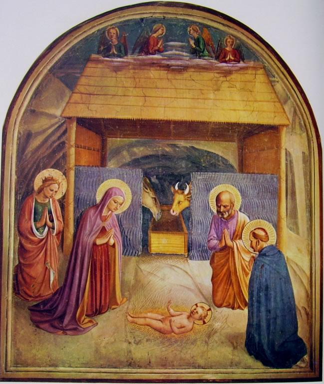 Beato Angelico:Beato Angelico: Affreschi di San Marco - Natività