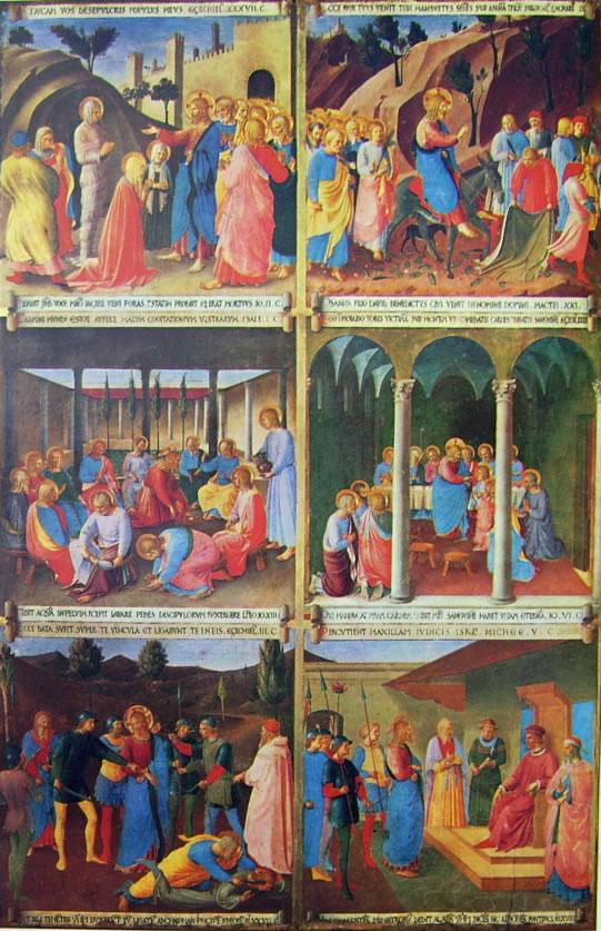 Beato Angelico: Armadio degli argenti - una anta dipinta