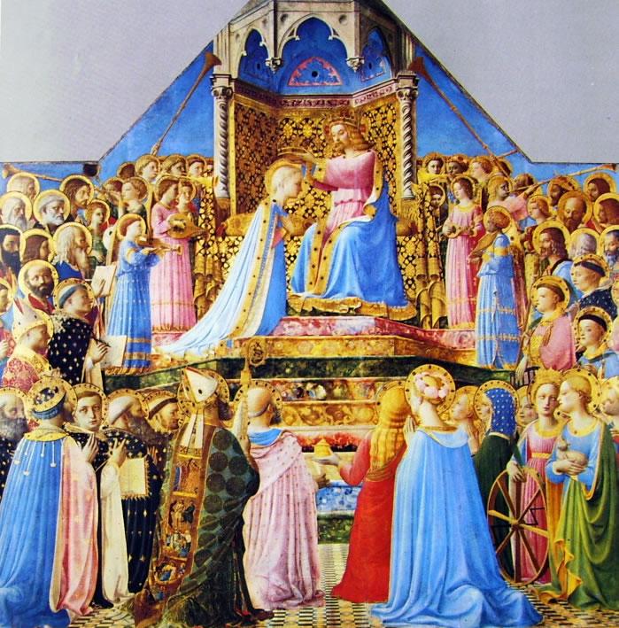 Beato Angelico:Beato Angelico: Pala dell'incoronazione