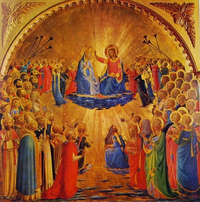 Beato Angelico: Incoronazione della Vergine (Uffizi)