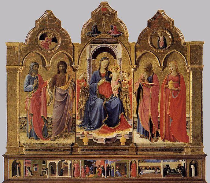 Beato Angelico: Trittico di Cortona