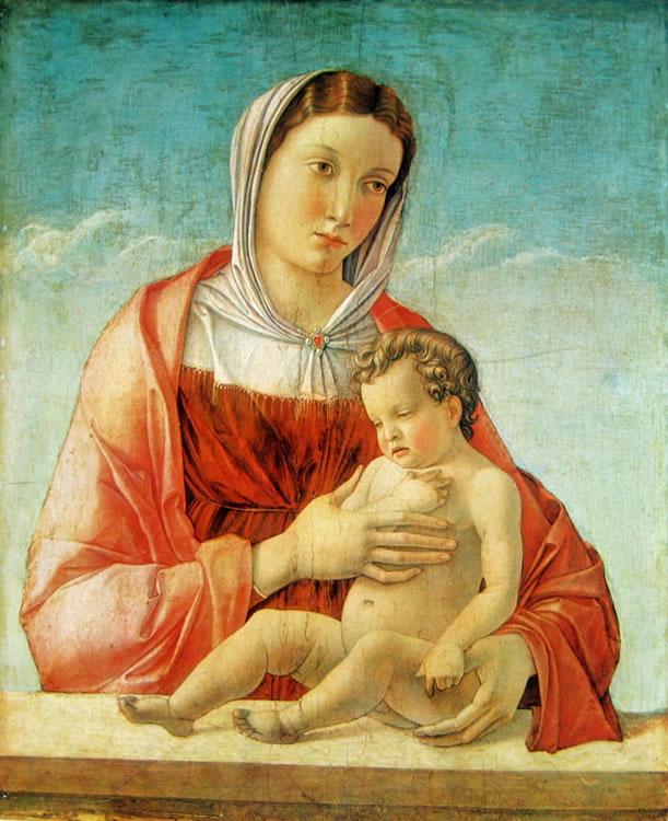 Giovanni Bellini: Madonna col bambino (Museo Correr)