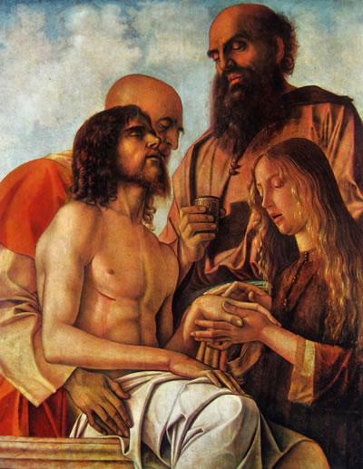 Compianto su Cristo morto, cm. 84