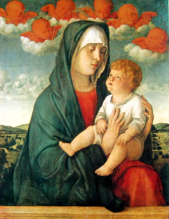Giovanni Bellini: Madonna dei cherubini rossi