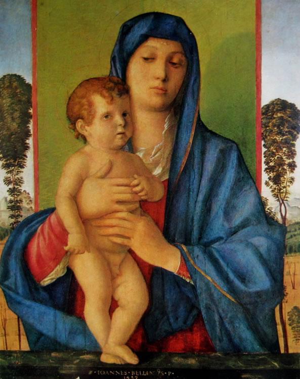 Giovanni Bellini: Madonna degli alberetti