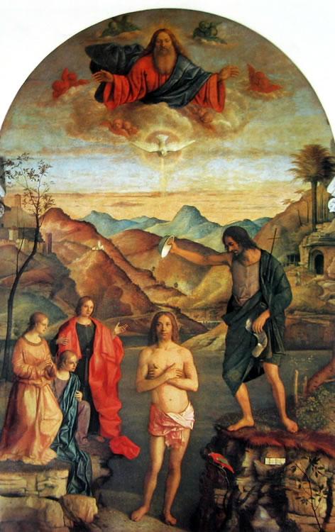 Giovanni Bellini: Il battesimo di Cristo (Vicenza)