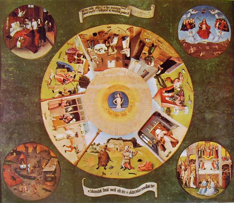 Hieronymus Bosch: I sette peccati capitali