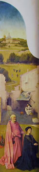 Aperto - anta sinistra (raffigurazione interna), cm. 138 x 33.