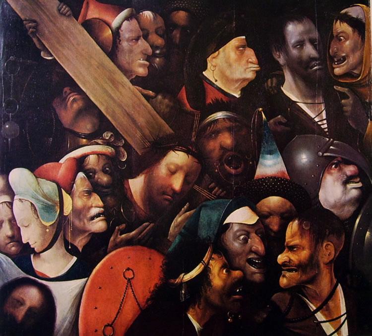 Hieronymus Bosch: Cristo porta-croce (Gand)