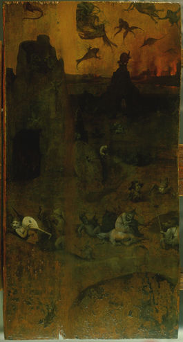 Hieronymus Bosch: Trittico del diluvio - il mondo malvagio