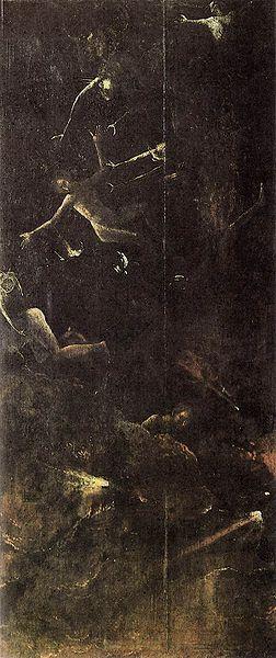 Hieronymus Bosch: La caduta dei dannati
