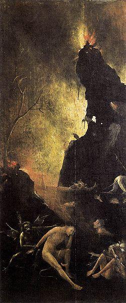 Hieronymus Bosch: L'inferno