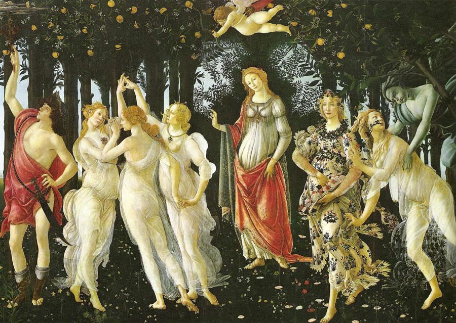 Botticelli: La Primavera (Uffizi)