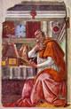 22 botticelli - sant'agostino nello studio
