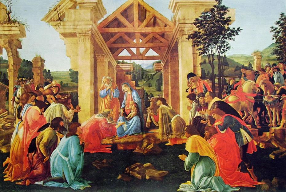 Il Botticelli: Adorazione dei magi (National Gallery)