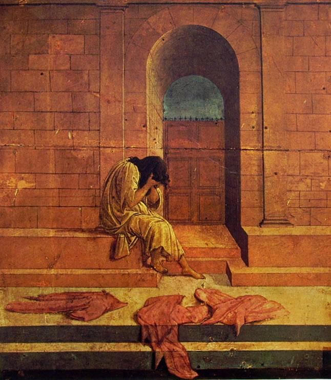 Il Botticelli: La derelitta (Collezione Rospigliosi)