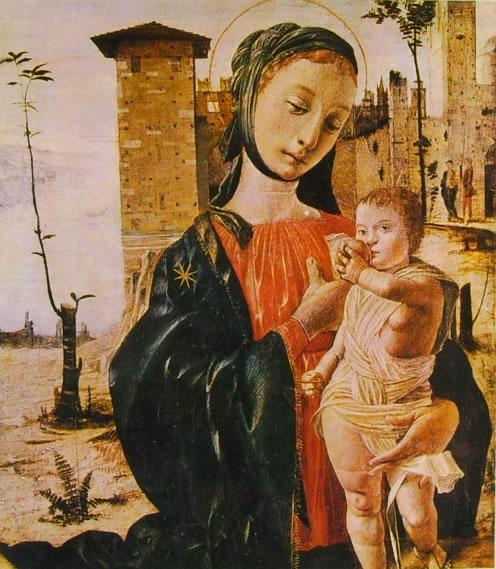 Bramantino: Madonna col Bambino (Boston)