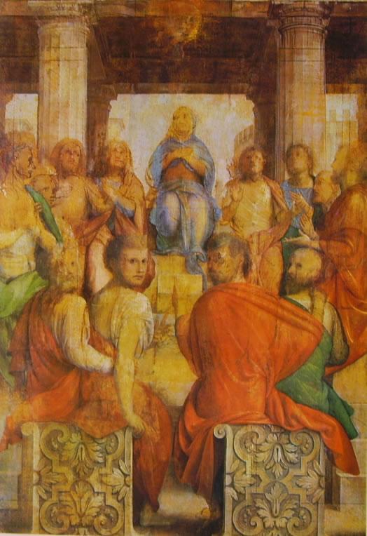 Bramantino: Pentecoste (Somma Lombardo)