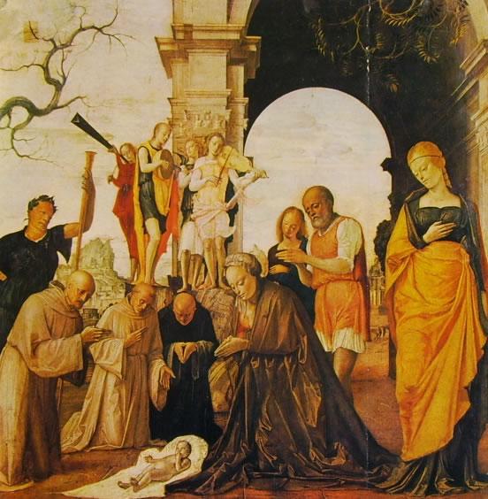 Bramantino: Natività (Pinacoteca Ambrosiana)