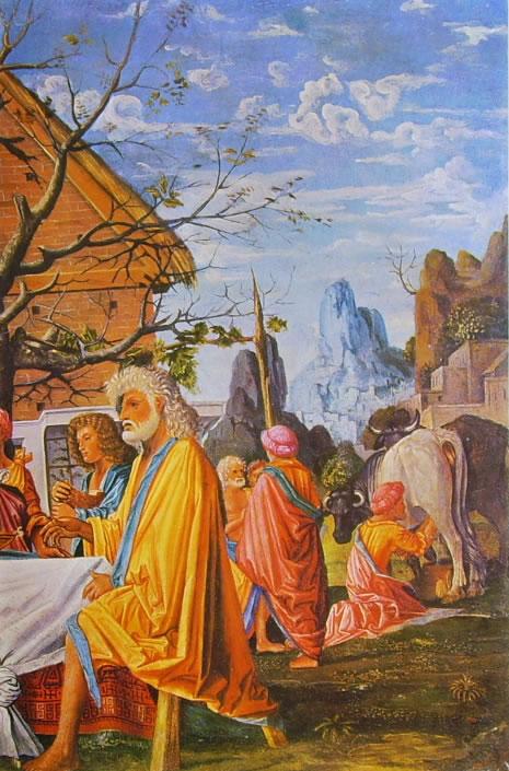 Bramantino: Filemone e Bauci (Colonia) (particolare destro)