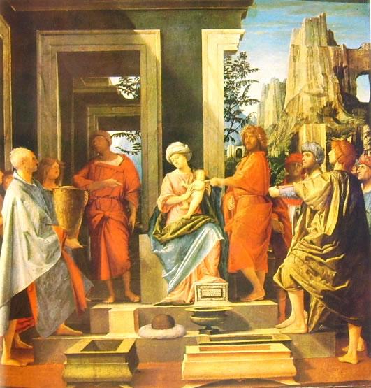 Bramantino: Epifania (National Gallery di Londra)